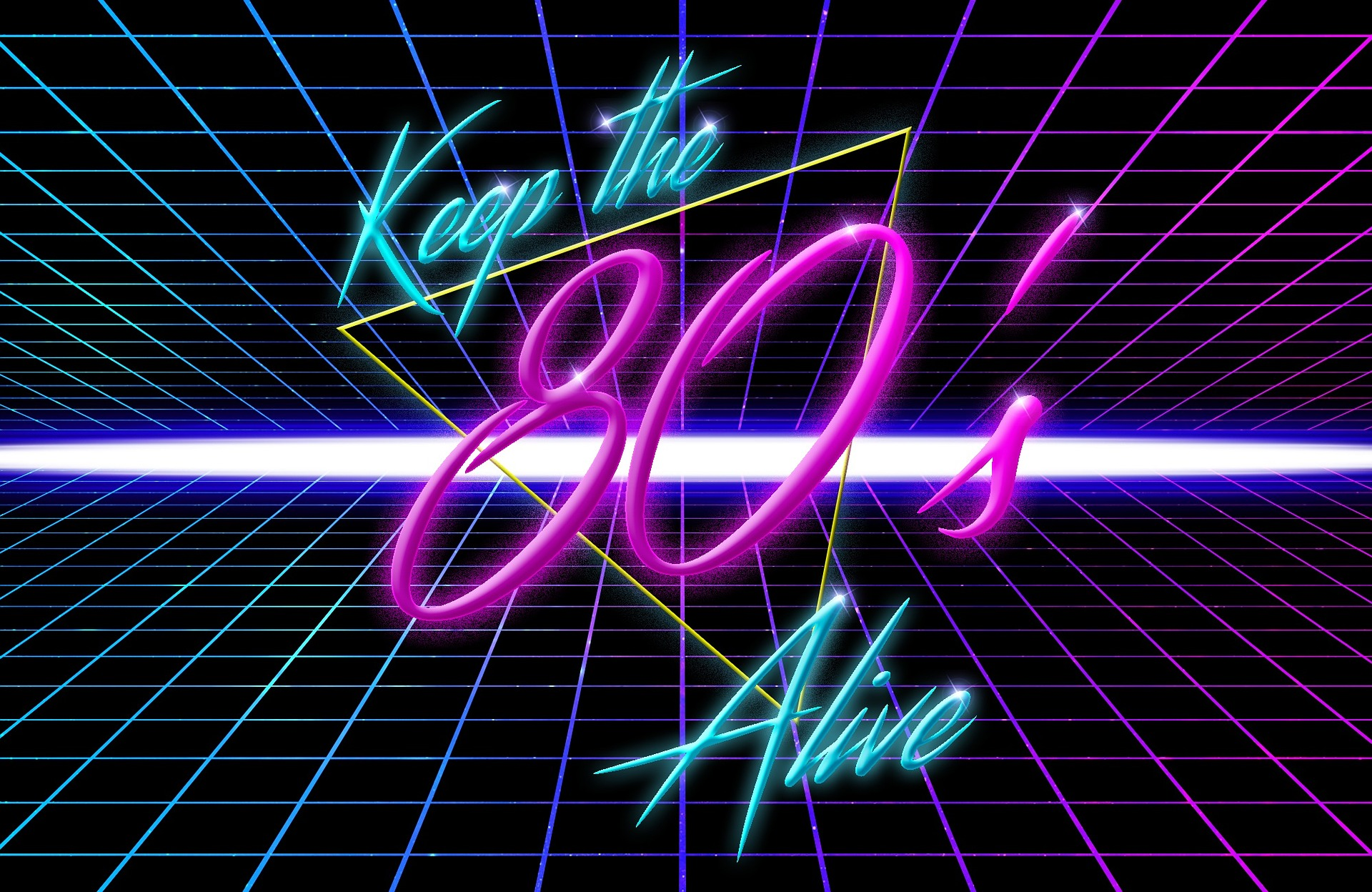 keep the 80s alive